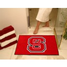 "34"" x 45"" North Carolina State Wolfpack All Star Floor Mat"