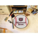 "Missouri State University Bears 29"" Round Baseball Mat"