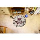 "Missouri State University Bears 29"" Round Soccer Mat"