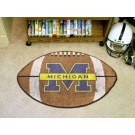 "22"" x 35"" Michigan Wolverines Football Mat"