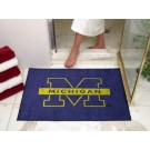 "34"" x 45"" Michigan Wolverines All Star Floor Mat"