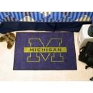 "Michigan Wolverines 19"" x 30"" Starter Mat"