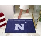 "34"" x 45"" Navy Midshipmen All Star Floor Mat"