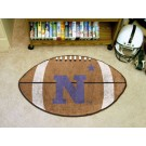 "22"" x 35"" Navy Midshipmen Football Mat"