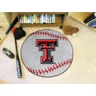 "27"" Round Texas Tech Red Raiders Baseball Mat"