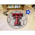 "27"" Round Texas Tech Red Raiders Soccer Mat"