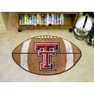 "22"" x 35"" Texas Tech Red Raiders Football Mat"