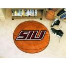 """27"""" Round Southern Illinois Salukis Basketball Mat"""
