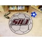 "27"" Round Southern Illinois Salukis Soccer Mat"