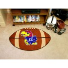 "22"" x 35"" Kansas Jayhawks Football Mat"