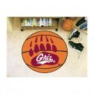 """27"""" Round Montana Grizzlies Basketball Mat"""