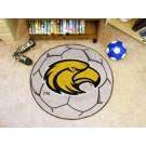 """27"""" Round Southern Mississippi Golden Eagles Soccer Mat"""