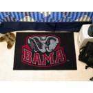 """Alabama Crimson Tide """"BAMA"""" 19"""" x 30"""" Starter Mat"""