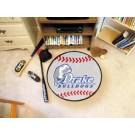 "Drake Bulldogs 27"" Round Baseball Mat"
