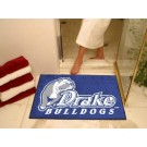 "Drake Bulldogs 34"" x 45"" All Star Floor Mat"