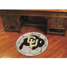 "27"" Round Colorado Buffaloes Soccer Mat"