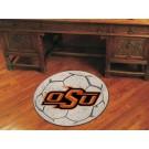 "27"" Round Oklahoma State Cowboys Soccer Mat"