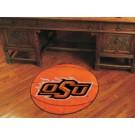 "27"" Round Oklahoma State Cowboys Basketball Mat"