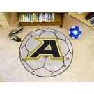 "Army Black Knights 27"" Round Soccer Mat"