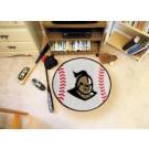 """29"""" Round UCF (Central Florida) Knights Baseball Mat"""