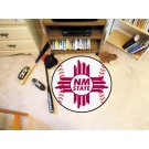"27"" Round New Mexico State Aggies Baseball Mat"