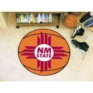 "27"" Round New Mexico State Aggies Basketball Mat"
