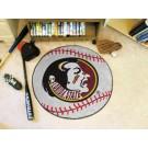 "Florida State Seminoles 27"" Round Baseball Mat"