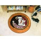 "Florida State Seminoles 27"" Round Basketball Mat"
