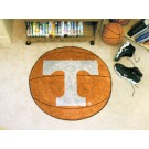"27"" Round Tennessee Volunteers Basketball Mat"