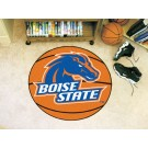 """27"""" Round Boise State Broncos Basketball Mat"""