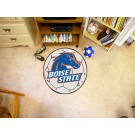"""27"""" Round Boise State Broncos Soccer Mat"""