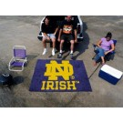 "Notre Dame Fighting Irish 5' x 6' Tailgater Mat (with ""ND"")"