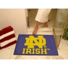 "Notre Dame Fighting Irish 34"" x 45"" All Star Floor Mat (with ""ND"")"