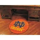 "Notre Dame Fighting Irish 27"" Round Basketball Mat (with ""ND"")"