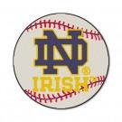 """Notre Dame Fighting Irish 27"""" Round Baseball Mat (with """"ND"""")"""