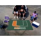 Miami Hurricanes 5' x 8' Ulti Mat