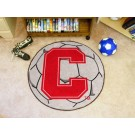 "27"" Round Cornell Big Red Bears Soccer Mat"