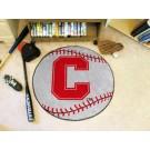 "27"" Round Cornell Big Red Bears Baseball Mat"