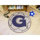 "27"" Round Georgetown Hoyas Soccer Mat"