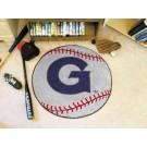 """27"""" Round Georgetown Hoyas Baseball Mat"""