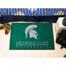 "Michigan State Spartans 19"" x 30"" Starter Mat"