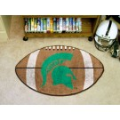 "22"" x 35"" Michigan State Spartans Football Mat"