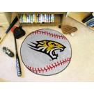 "27"" Round Towson Tigers Baseball Mat"