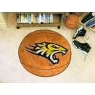 "27"" Round Towson Tigers Basketball Mat"