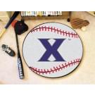 """27"""" Round Xavier Musketeers Baseball Mat"""