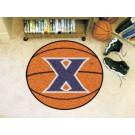 """27"""" Round Xavier Musketeers Basketball Mat"""