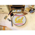 "27"" Round California (Berkeley) Golden Bears Baseball Mat"