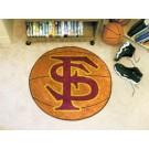 "27"" Round Florida State Seminoles Basketball Mat"