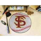 "27"" Round Florida State Seminoles Baseball Mat"