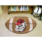 """Georgia Bulldogs """"Bulldog"""" 22"""" x 35"""" Football Mat"""